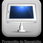 Protección de exposición, vitrinas,merchandising con seguridad